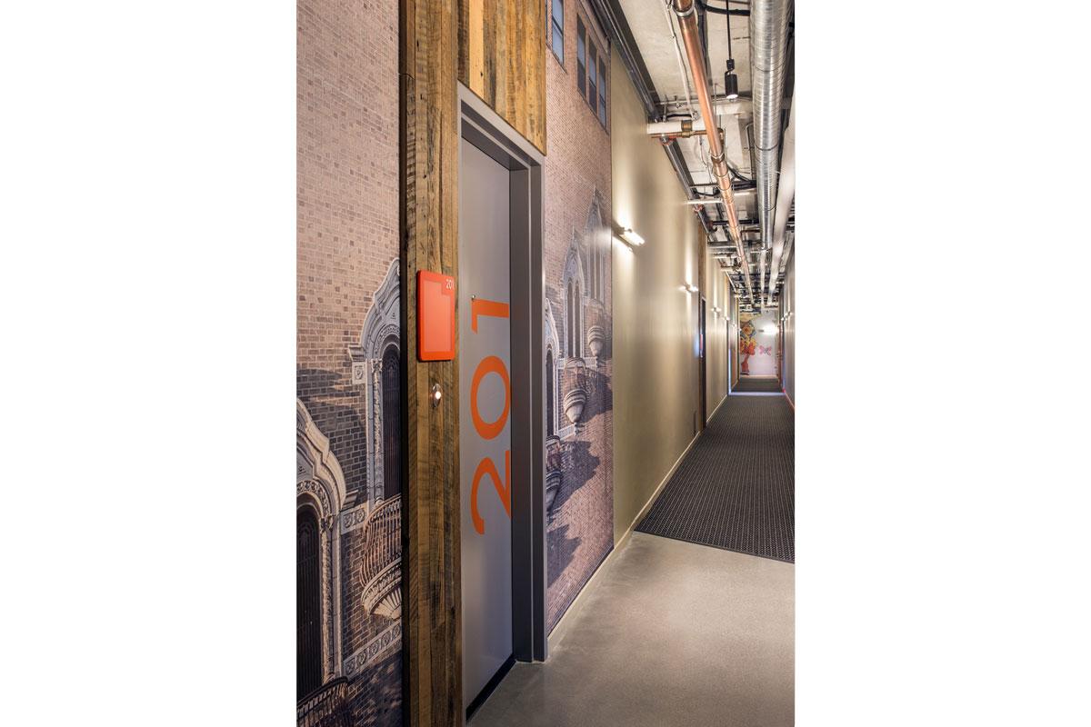 Corridor 201