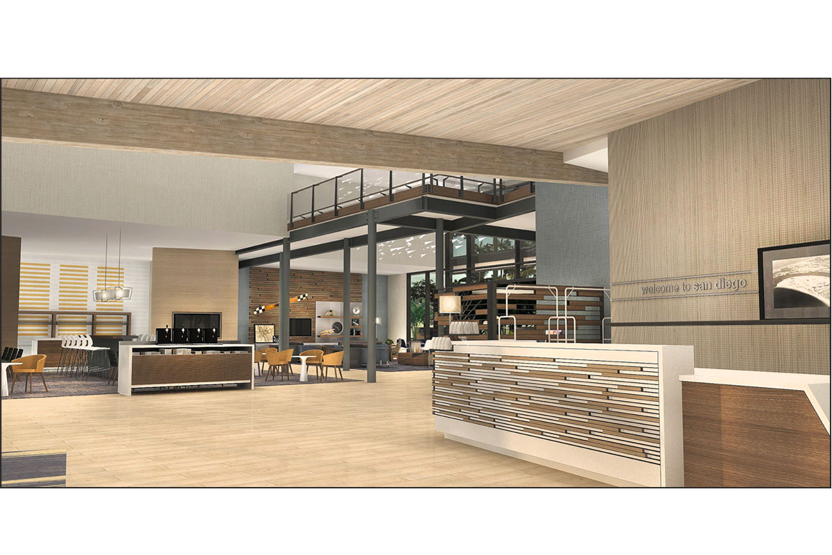 Hampton Inn & Suites Frontdesk