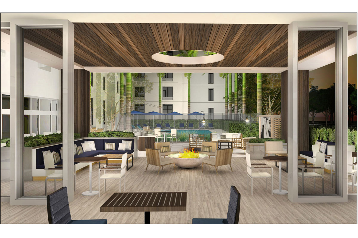 TownePlace Suites Patio & Pool
