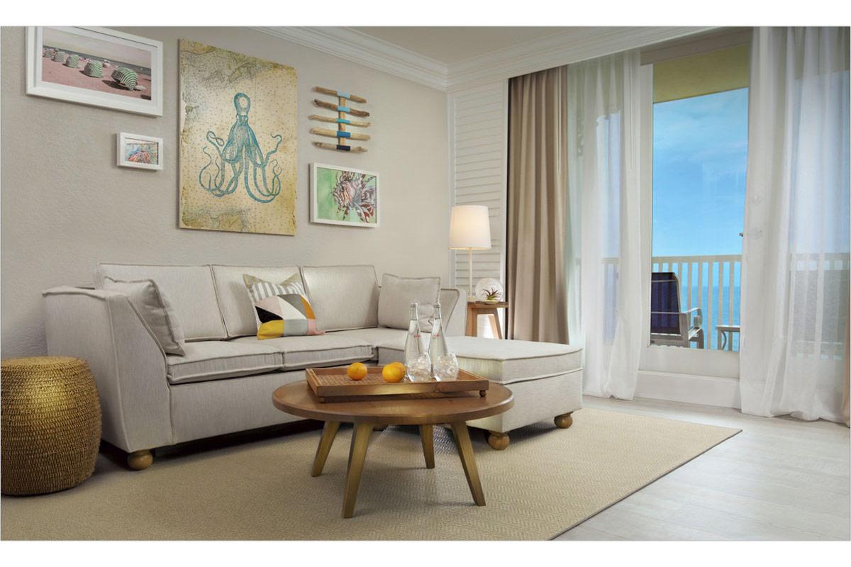 Model Room Living Room
