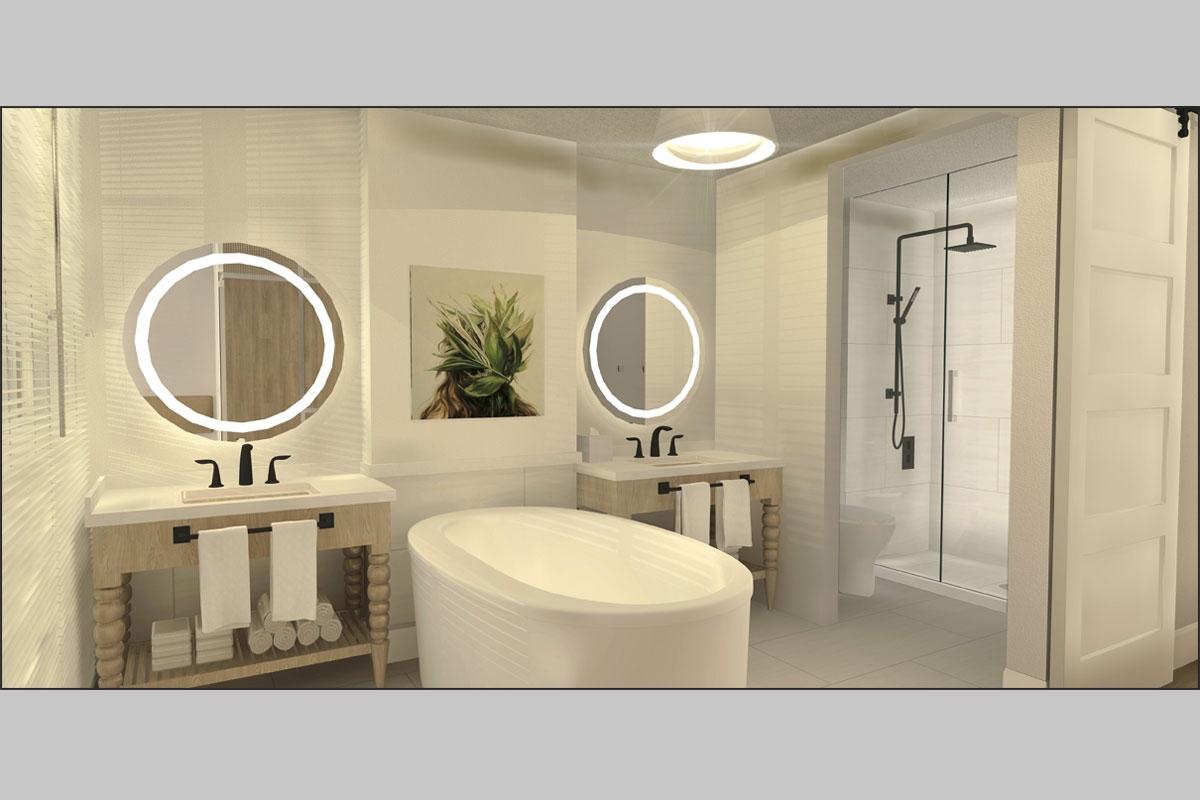 Rendering Bathroom