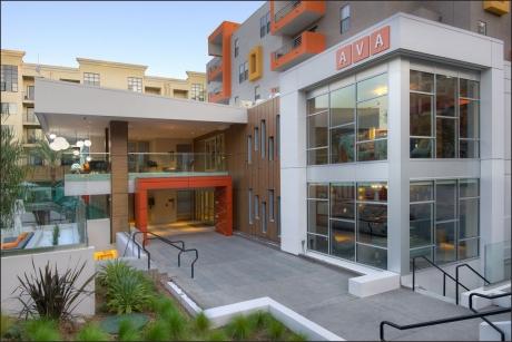 AVA Studio City newly renovated entry