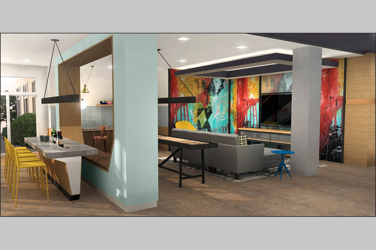 Chill Lounge Rendering