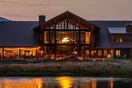 Sage Lodge at Dusk