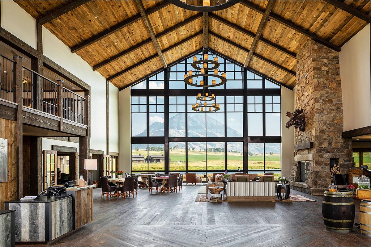 Sage Lodge - Lobby & Great Room